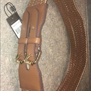 Bcbg belt pure leather